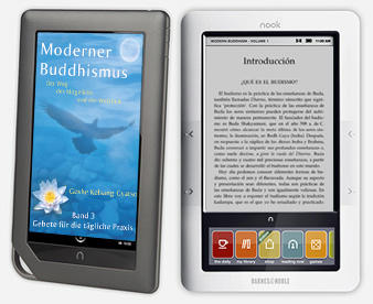 How do I download eModern Buddhism to my Nook?